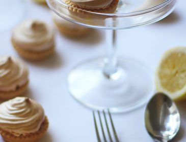 Mini lemon meringue pies, Bumpkin betty