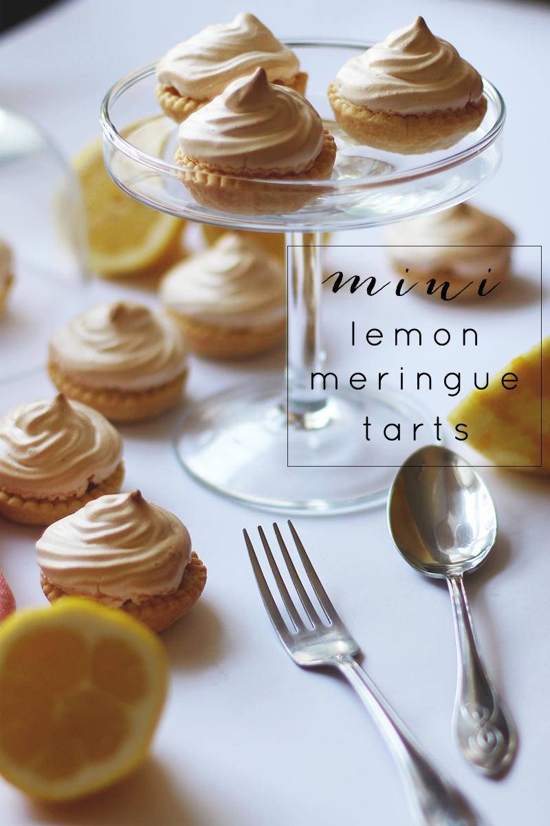 mini lemon meringue tarts, Bumpkin Betty
