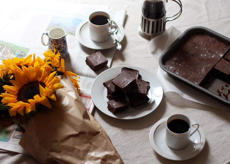 No bake chocolate tiffin recipe, Bumpkin Betty