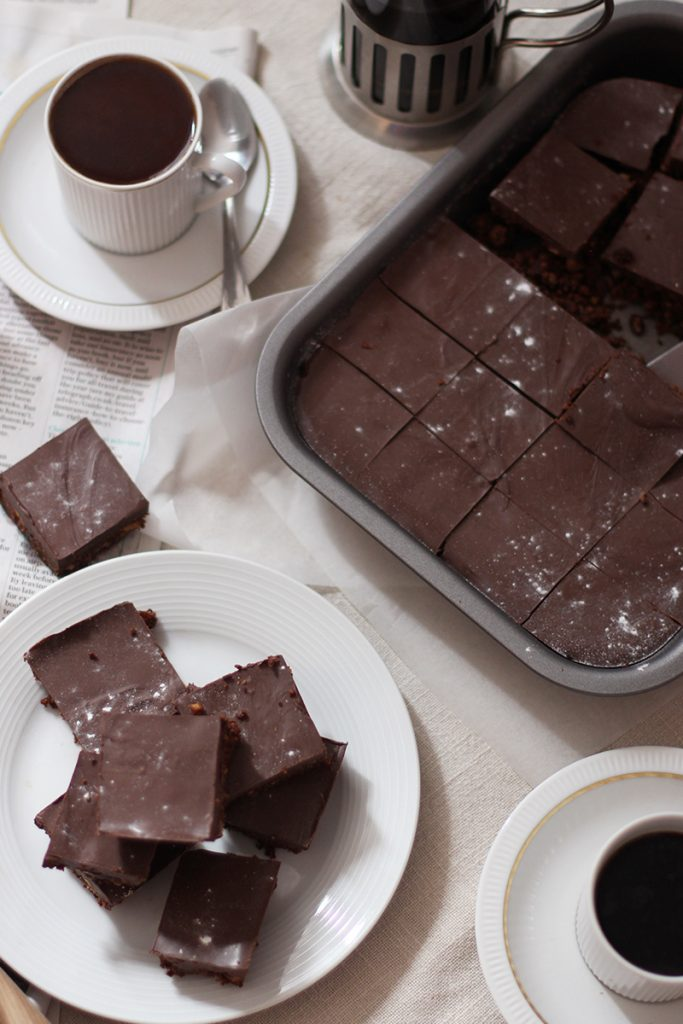 Chocolate tray bake recipe ideas, Bumpkin Betty