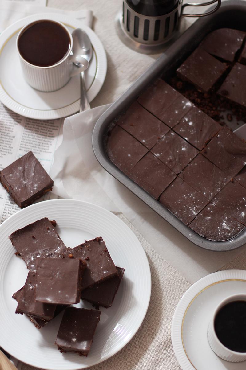 Chocolate tray bake recipe ideas, Bumpkin Betty