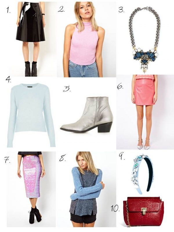 UK High Street Fashion Blogs - AW13 Wishlist, Patents, Pastels