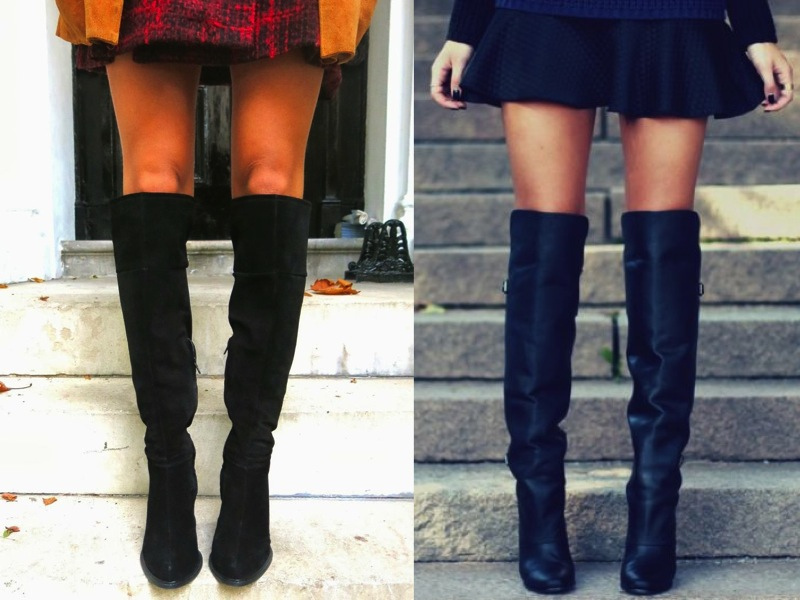 Top UK Fashion Blogs, Over the Knee Boots, Street Style