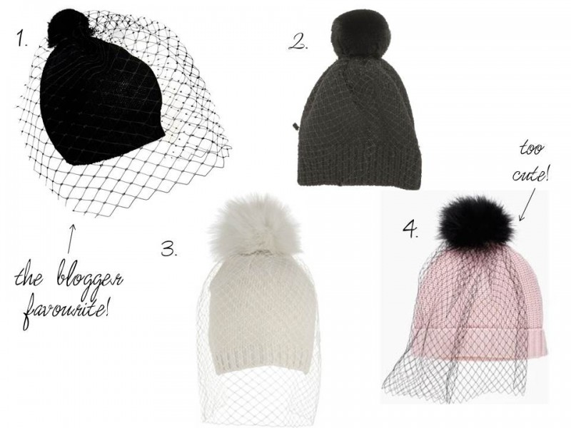 Top UK Fashion shopping blogs, hats with veils