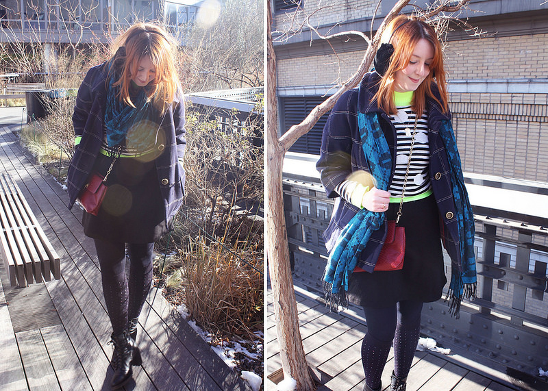Top UK Fashion and Style Blogs, ASOS Spotty jumper and Knee High Socks
