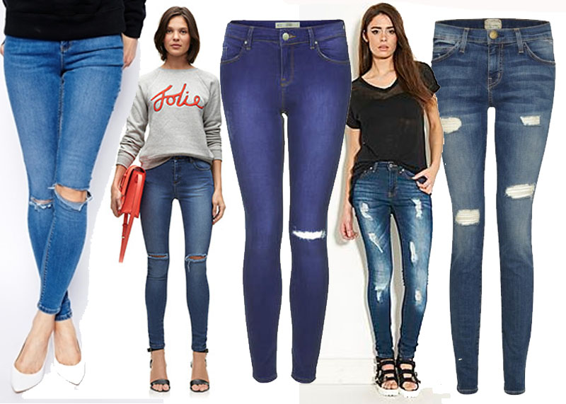 Bumpkin Betty, Ripped Jeans on the High Street