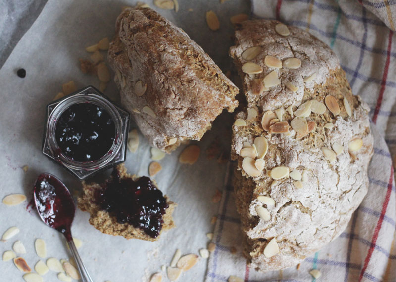 How to Make Almond Soda Bread