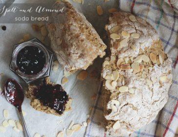 Spelt and Almond Soda Bread