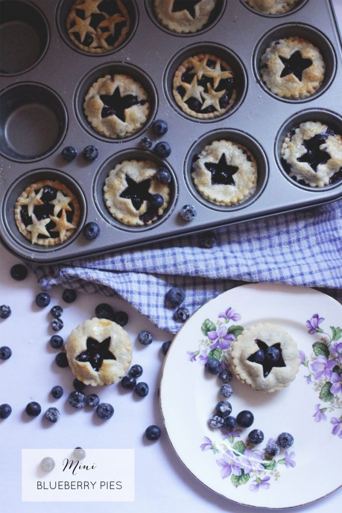 Blueberry pies recipe, Bumpkin Betty