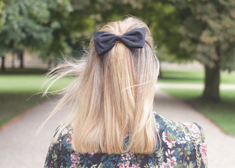 blonde hair with bow, Bumpkin Betty