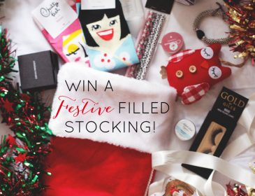win a festive stocking full of presents