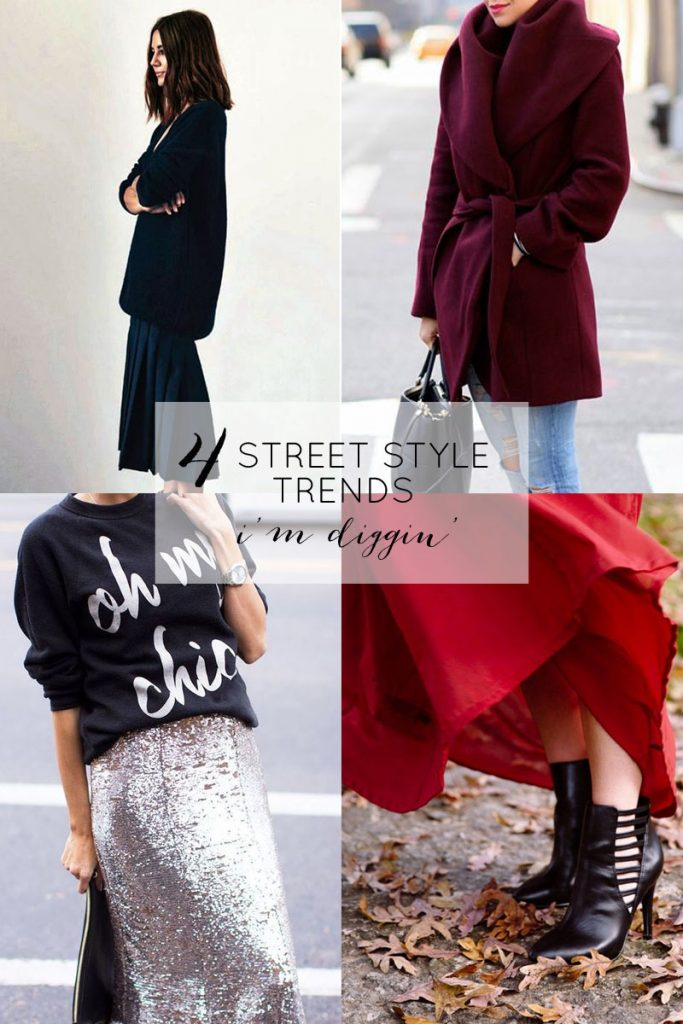 4 street style trends