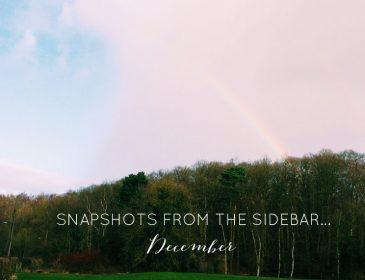 December Sidebar Snapshots