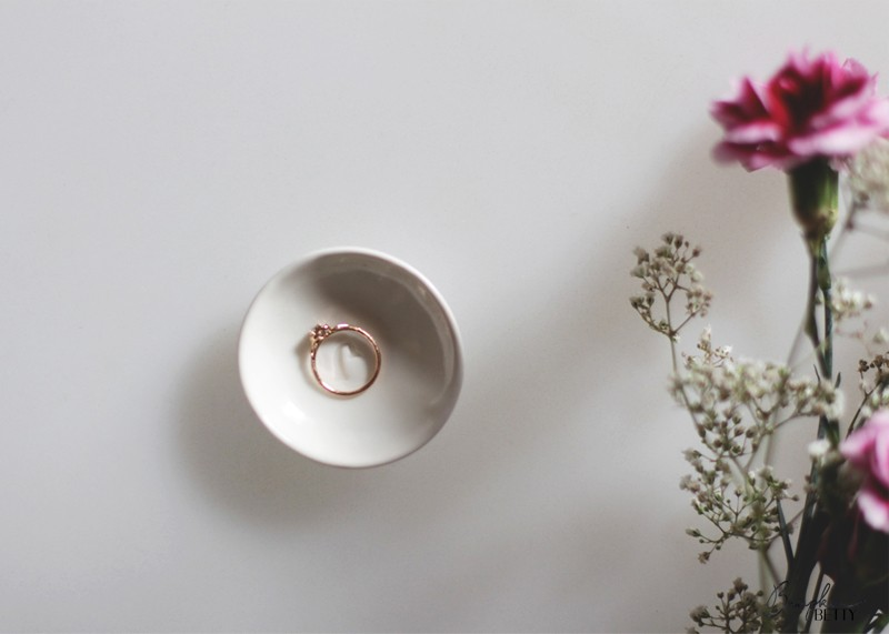 Bespoke rose gold engagement ring, Bumpkin betty