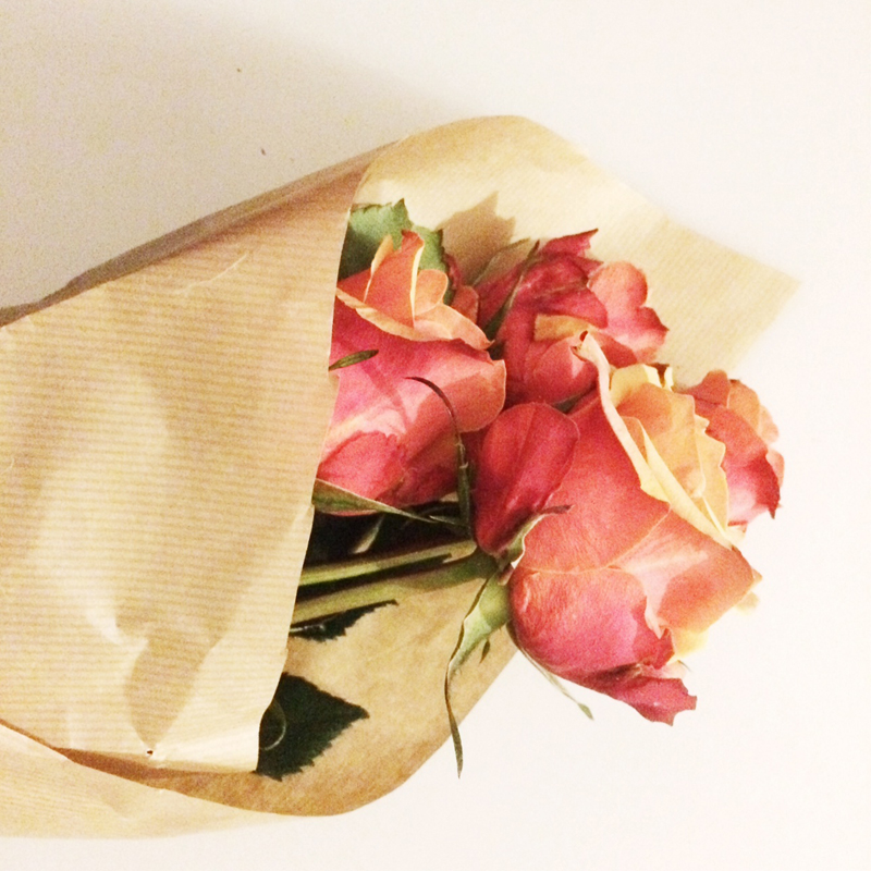 Debenhams Orange Roses, Bumpkin Betty
