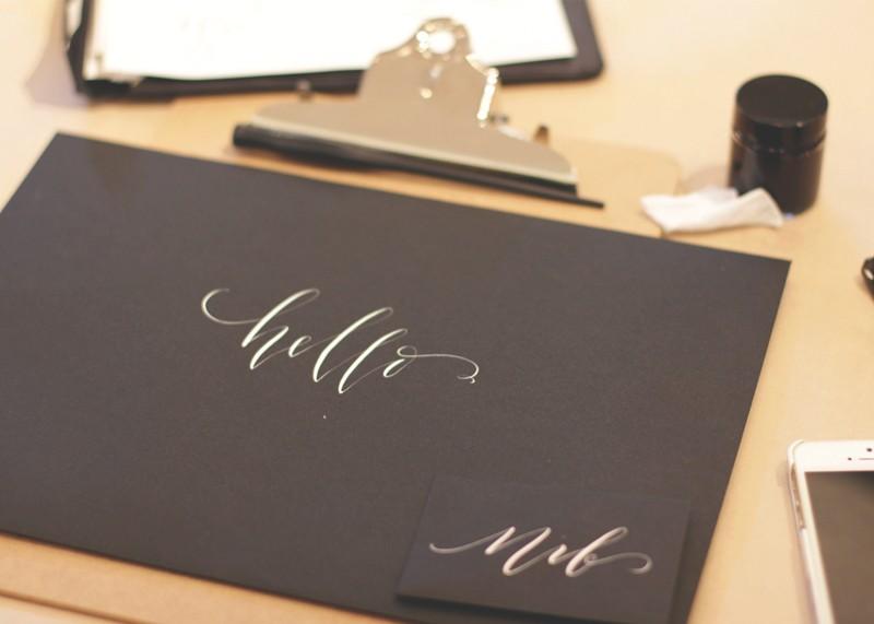 how to learn modern calligraphy, Bumpkin Betty