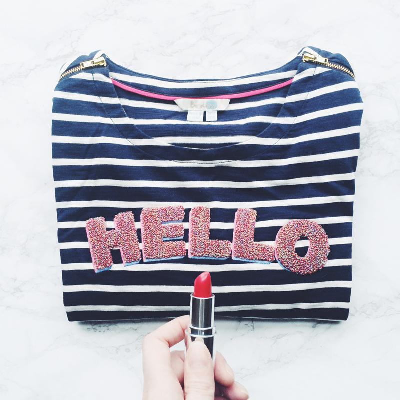 Boden striped t-shirt, Bumpkin Betty