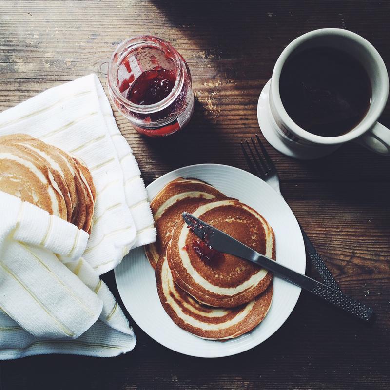 Gluten free pancakes, Bumpkin Betty