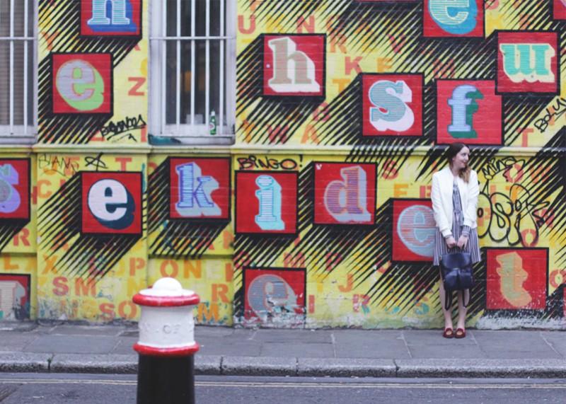 East London street art, Bumpkin Betty