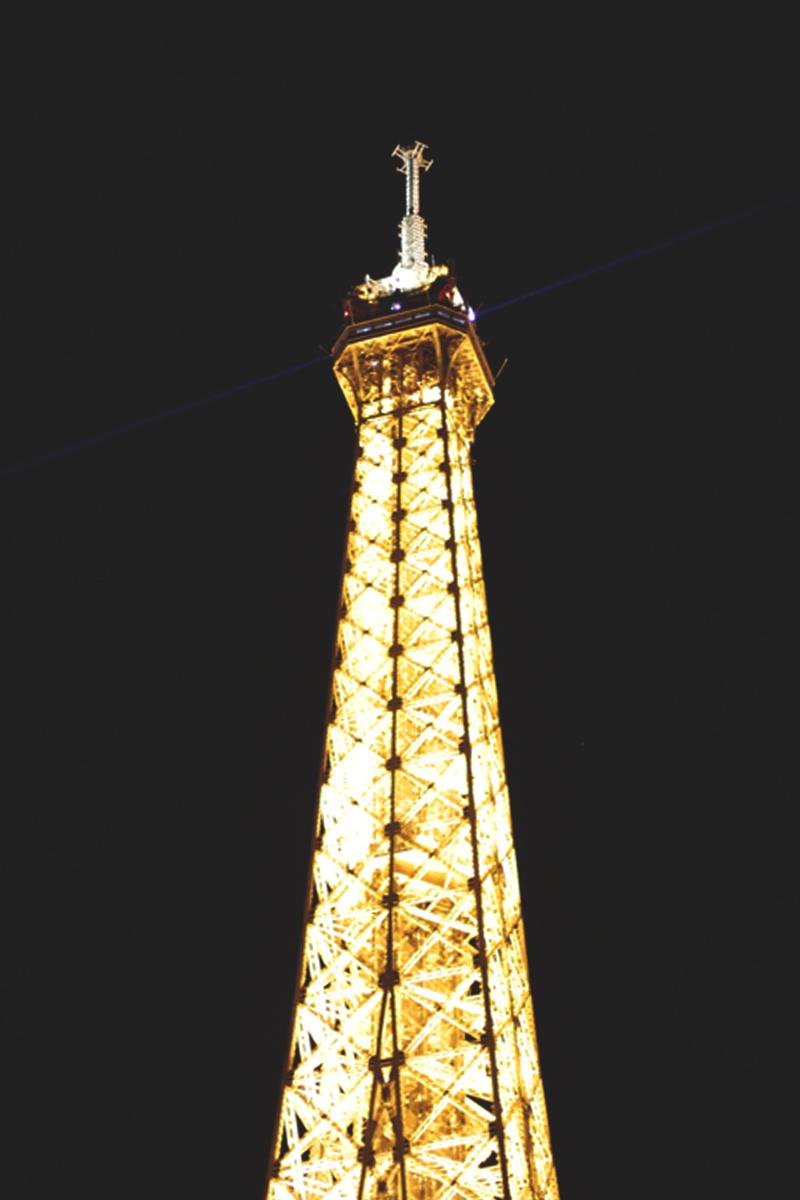 The Eiffel Tower at Night, Bumpkin Betty