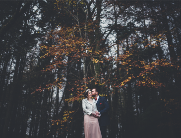 Bumpkin Betty Scottish woodland wedding