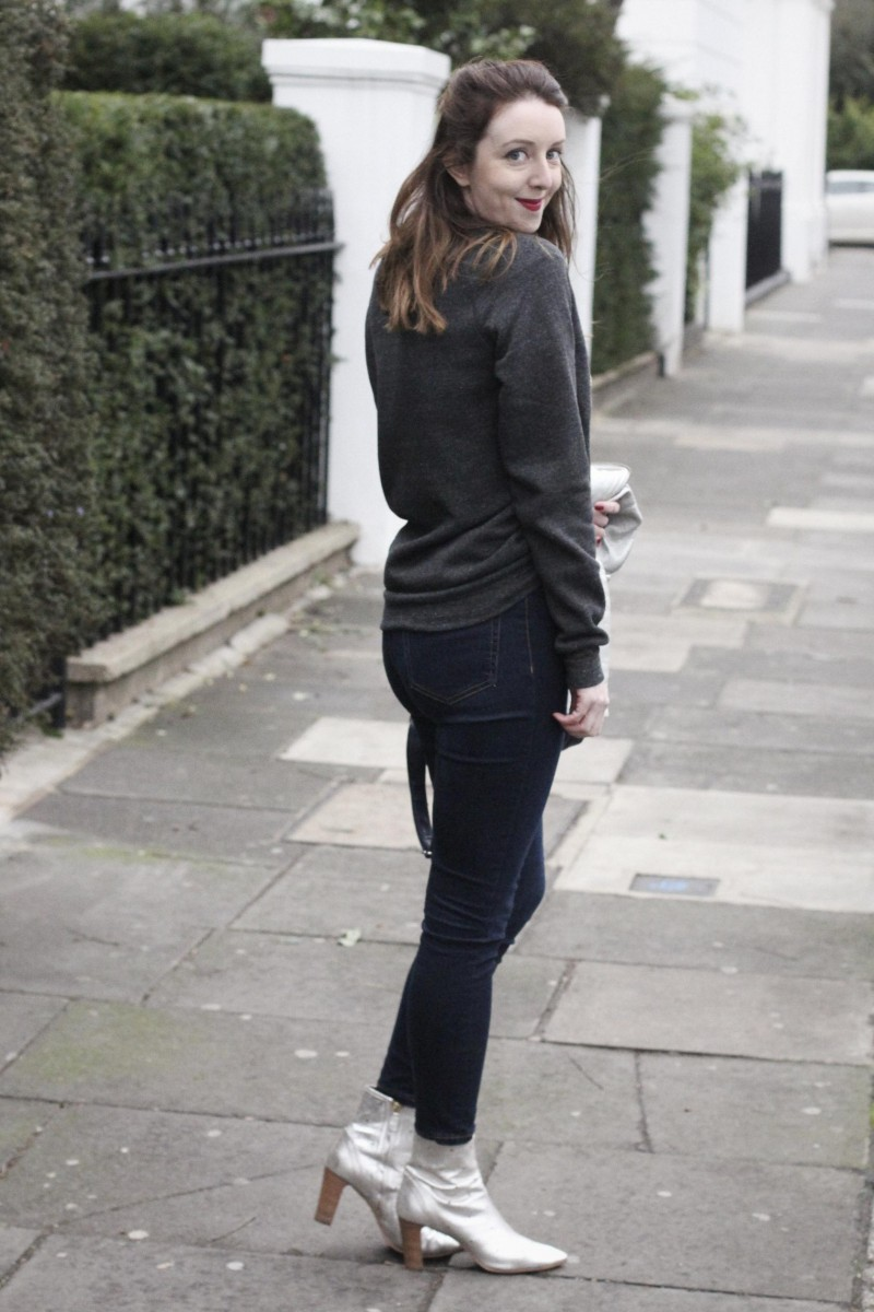 skinny jeans and ankle boots, Bumpkin betty
