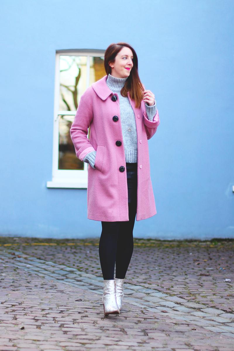 Boden pink coat, Bumpkin Betty