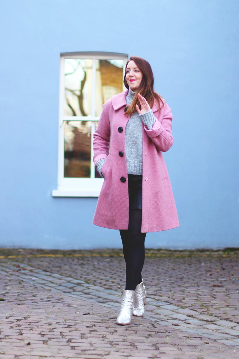 How to wear a pink coat, Bumpkin Betty