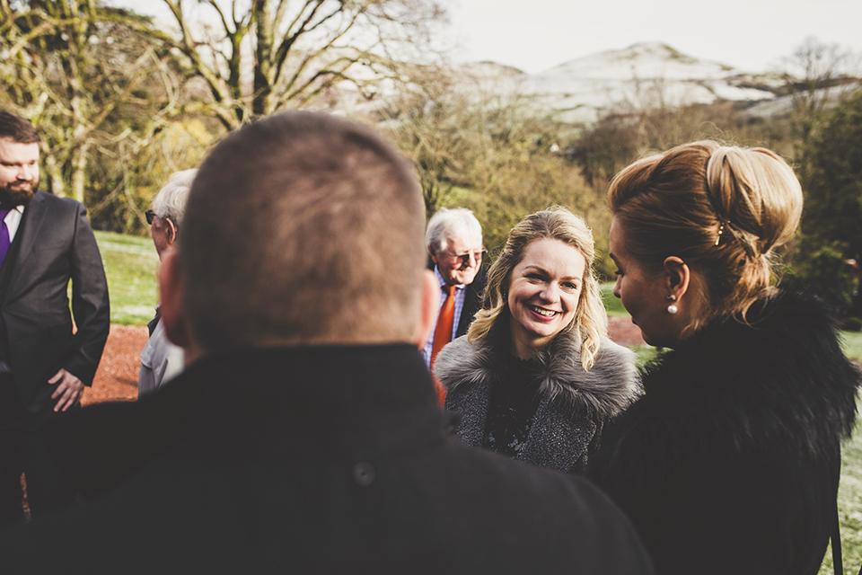Tips for an outdoor wedding in winter, Bumpkin Betty