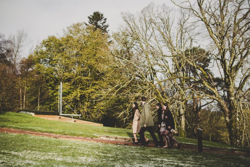 Woodland wedding in Scotland, Bumpkin Betty