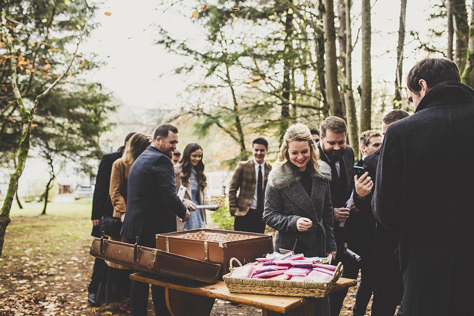 Winter woodland wedding, Bumpkin Betty