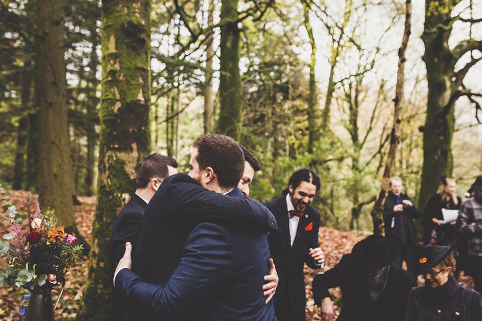 scottish winter wedding ceremony, Bumpkin Betty