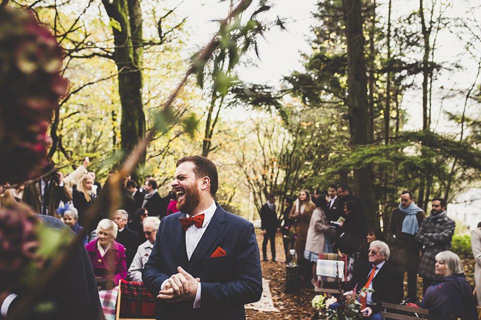 Scottish woodland wedding, Bumpkin Betty