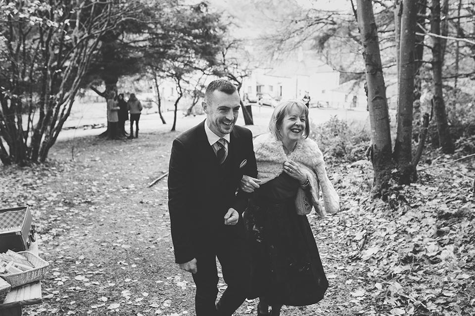 Outdoor winter wedding, Bumpkin Betty