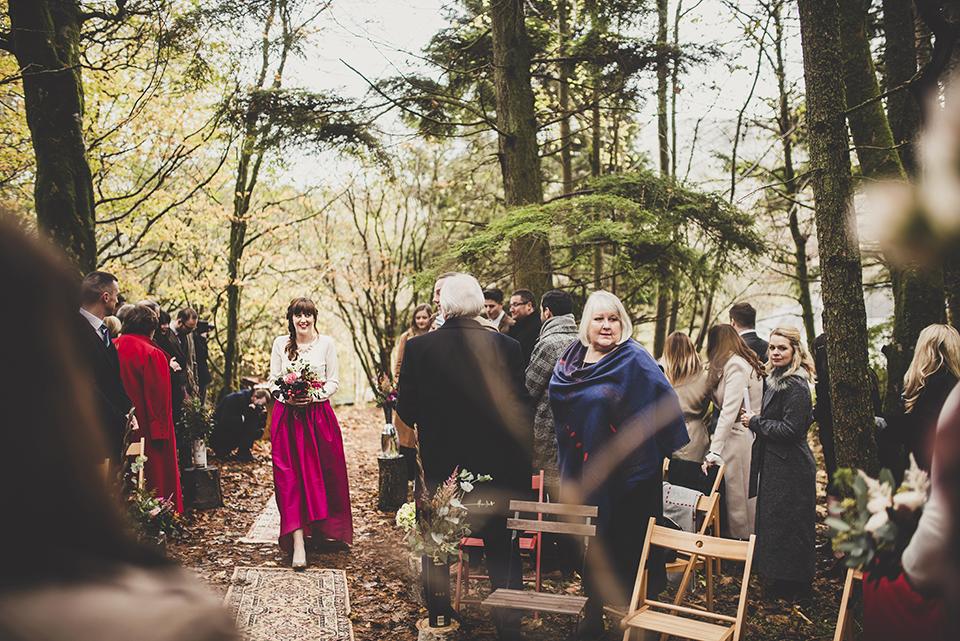 Bridesmaid dresses ideas for a winter wedding, Bumpkin Betty