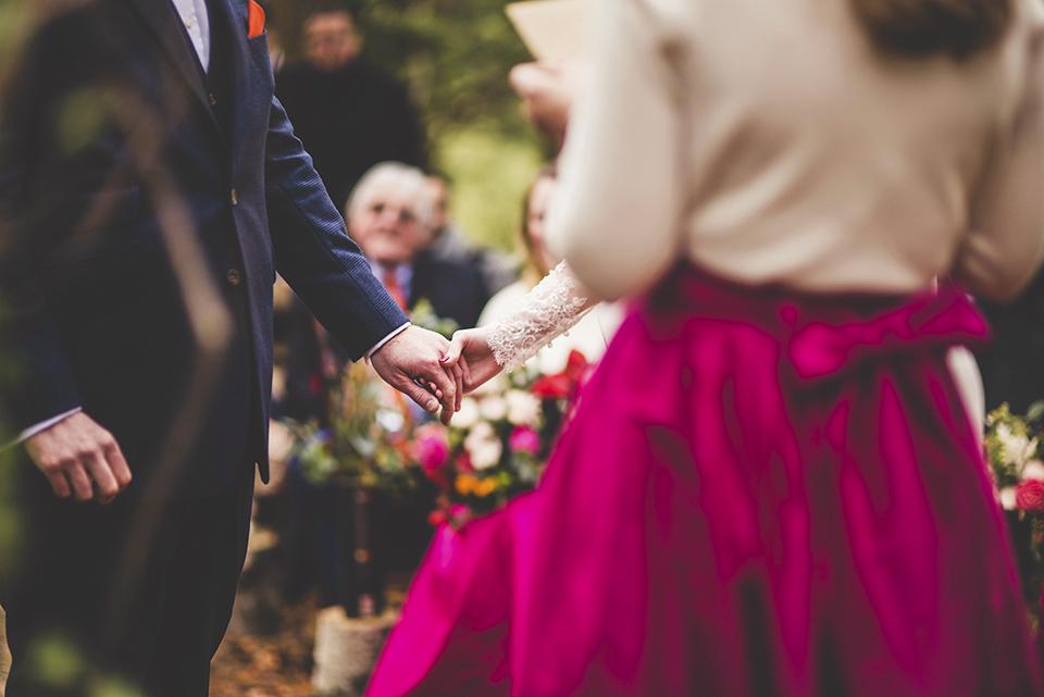 winter wedding in the woods, Bumpkin Betty