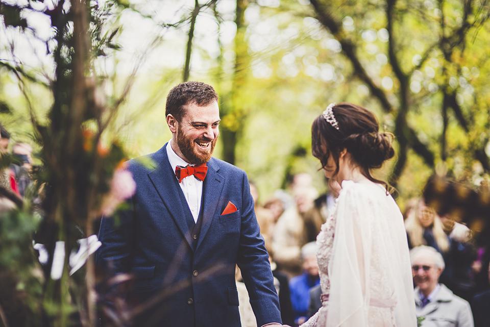woodland wedding ceremony ideas, Bumpkin Betty
