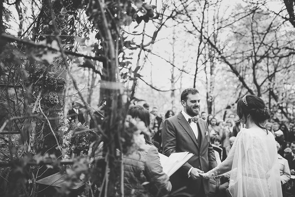 winter woodland wedding inspiration, Bumpkin Betty