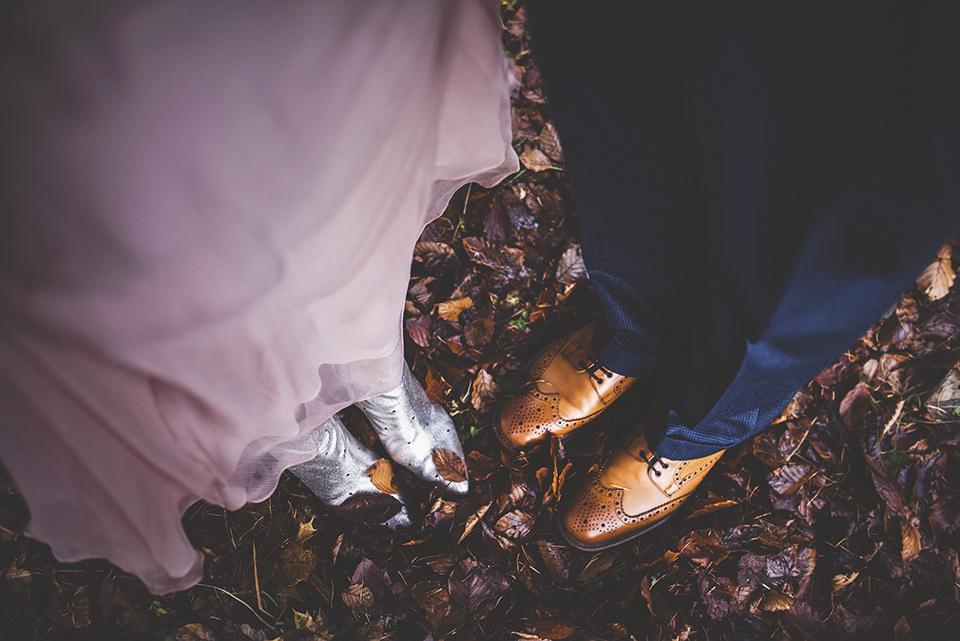 Scottish wedding in the woods, Bumpkin Betty