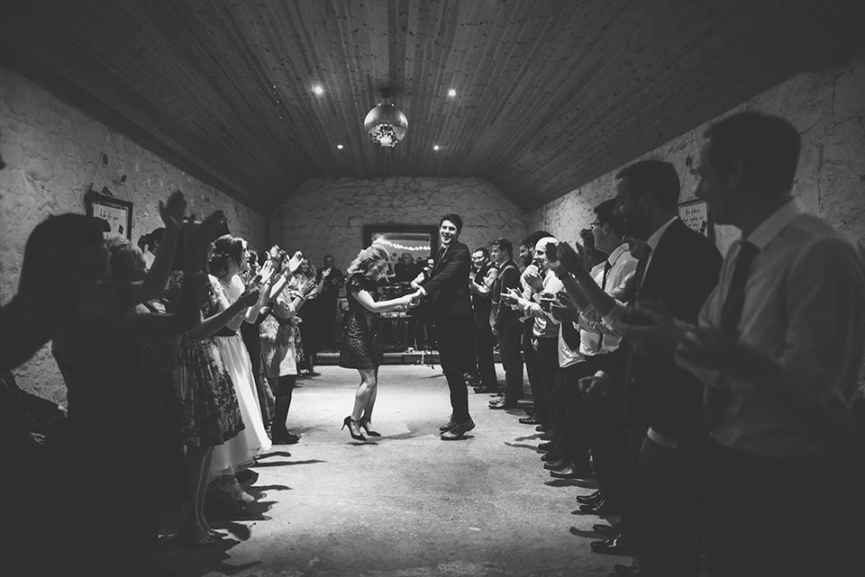 Scottish barn wedding, Bumpkin Betty