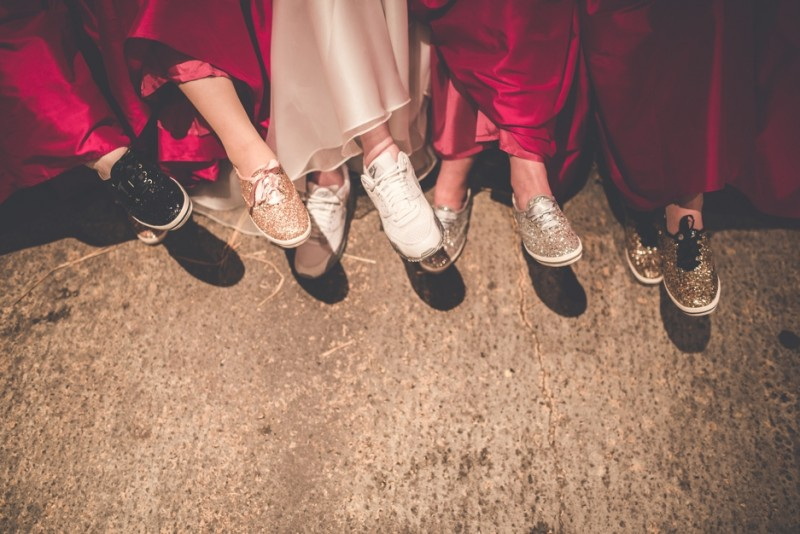 brides in trainers, Bumpkin Betty