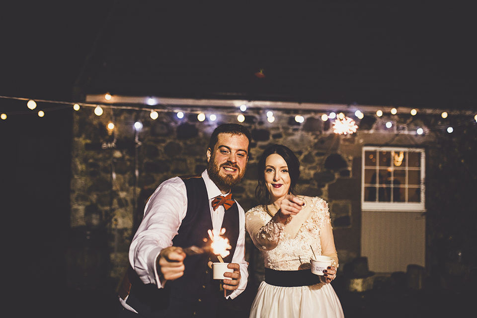 Where to buy sparklers for your wedding, Bumpkin Betty