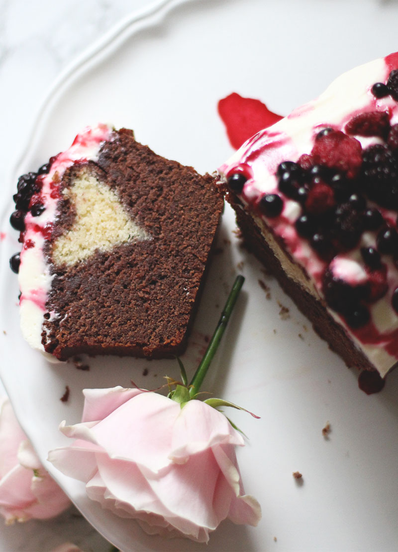 Hidden heart loaf cake, Jaclyn Ruth