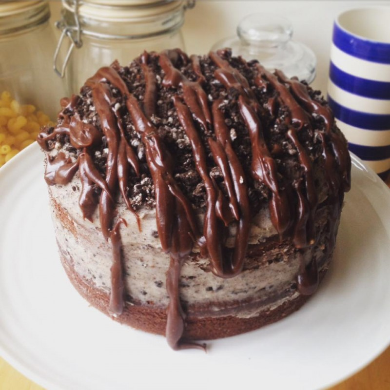 Chocolate Oreo Cake, Bumpkin Betty Baking Club