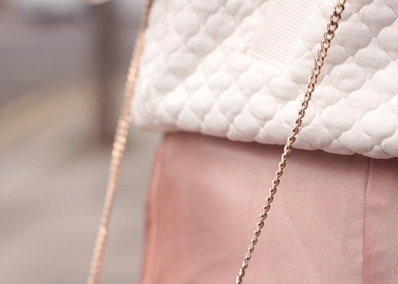Dusky pink silk slip dress, Bumpkin Betty