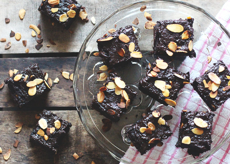 How to make gluten free sweet potato brownies, Bumpkin Betty