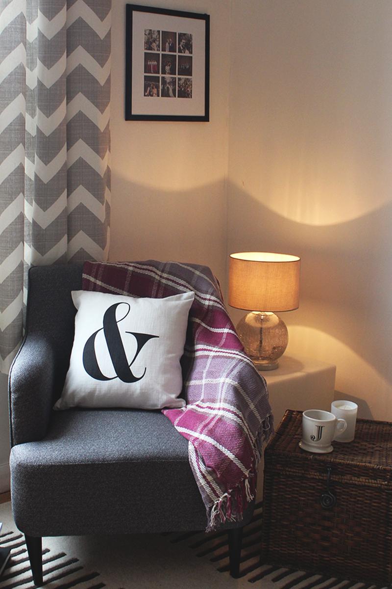 Next charcoal grey carter chair, Bumpkin betty