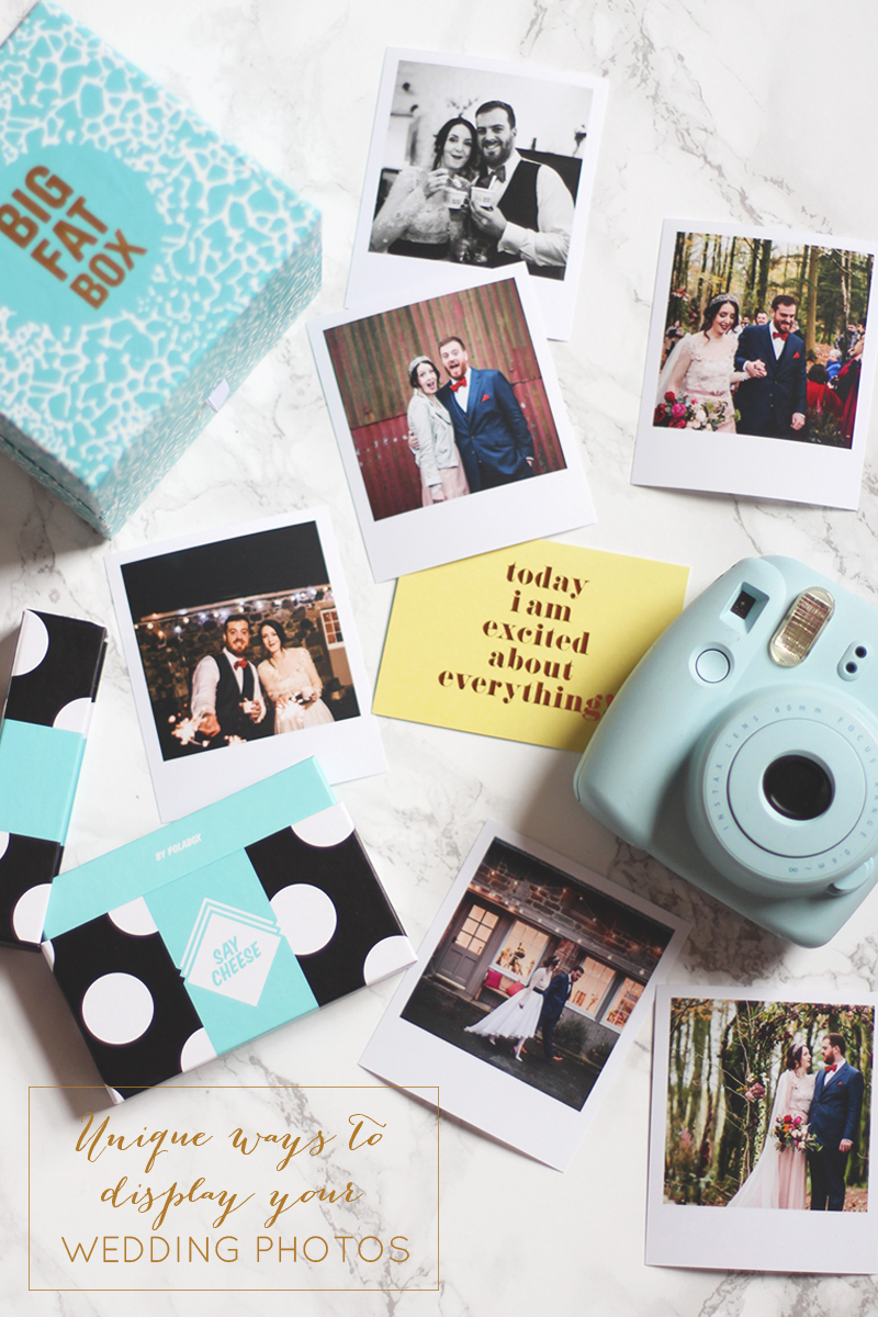 unique ways to display your wedding photos, Bumpkin Betty
