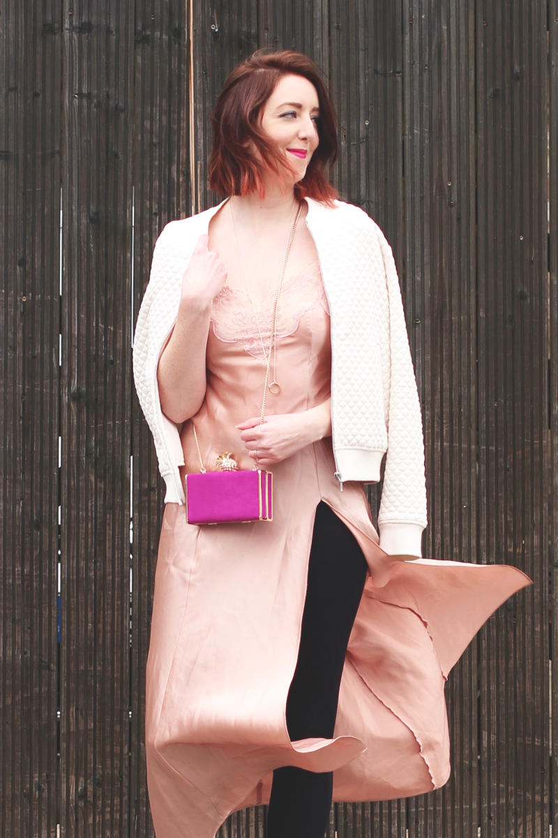 How to tackle the slip dress trend, Bumpkin Betty