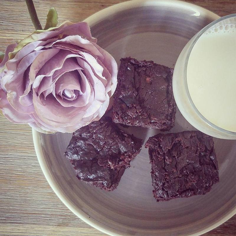 Courgette brownies, Bumpkin Betty